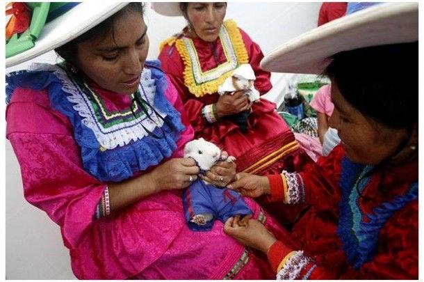 Фестиваль морских свинок (Уачо, Перу)