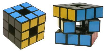 Кубик Рубика - пустой куб