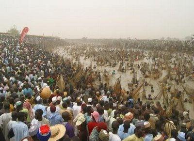 Фестиваль рыбной ловли (Аргунгу, Нигерия)