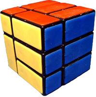 Кубик Рубика - перевязанный куб