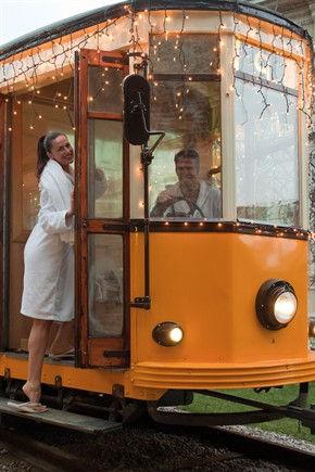 Трамвай-сауна (Милан, Италия)
