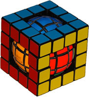 Кубик Рубика - шар в кубе