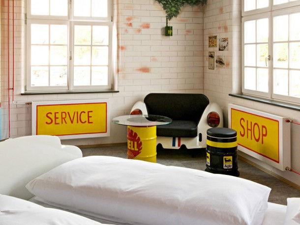 Необычные отели - V8 Hotel (Штутгарт, Германия)
