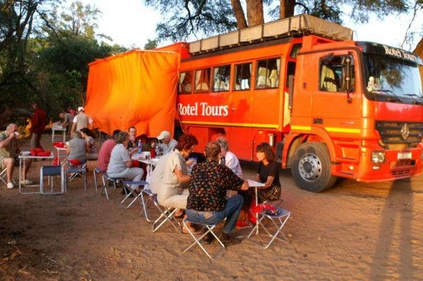 Rotel – отель на колесах