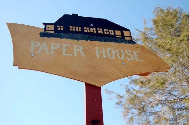 Дом из газет (Рокпорт, США)