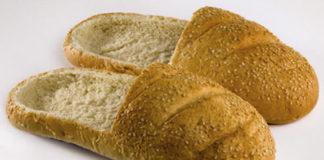 Обувь из хлеба