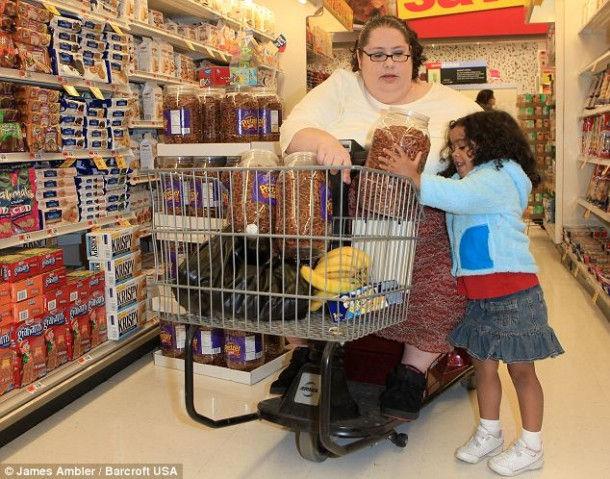 Донна Симпсон – самая жирная мама (Нью-Джерси, США)