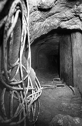 """Тоннель, благодаря которому был ограблен банк """"Societe Generale"""""""
