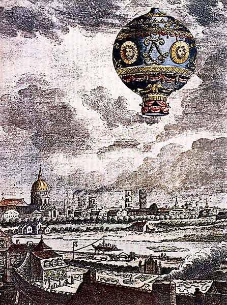 Первый полет на воздушном шаре