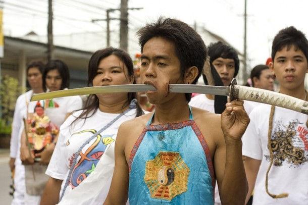 Вегетарианский фестиваль (Пхукет, Таиланд)