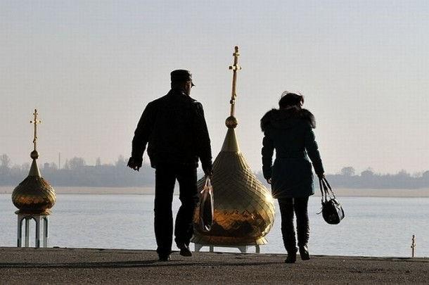 "Плавучий храм ""Святой Василий"""