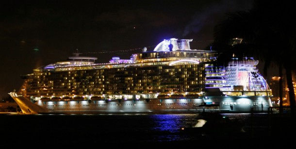 """Oasis of the Seas"" – самое большое круизное судно"