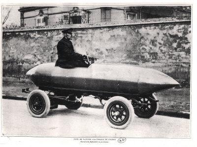 """""""La Jamais Contente"""" - первый електромобиль, разогнавшийся до 100км/ч"""