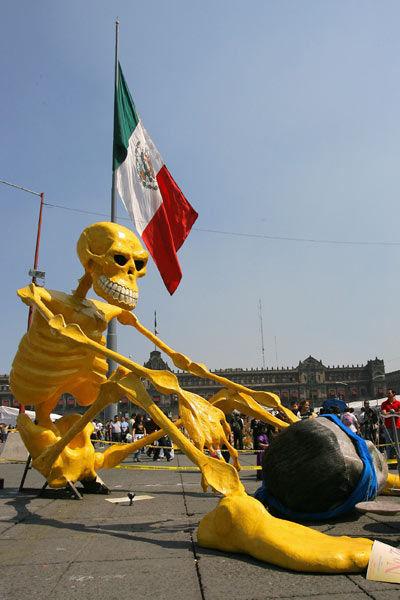 Мексиканский Хэллоуин - День Мертвых (Dia de los Muertos)