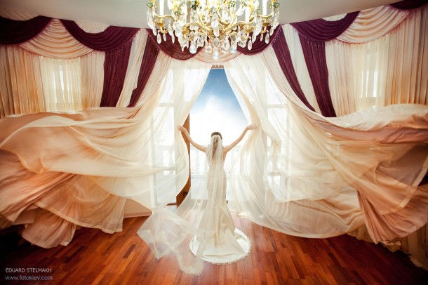 Свадебная фотография Эдуарда Стельмаха