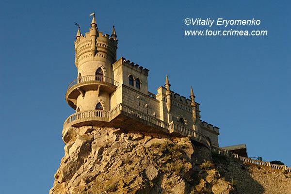 """Замок """"Ласточкино гнездо"""" (Украина, Крым)"""