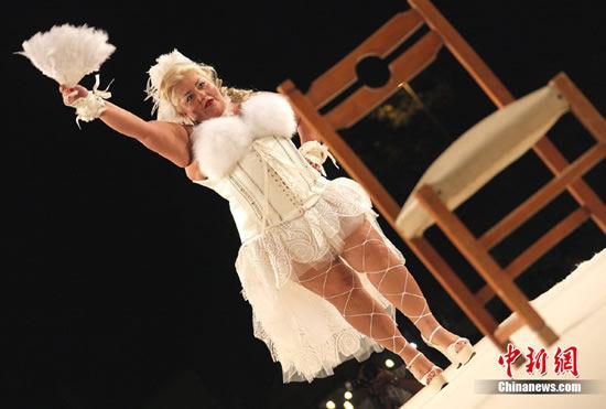 """Miss Cicciona"" – красота весом в 100 килограмм (Италия)"