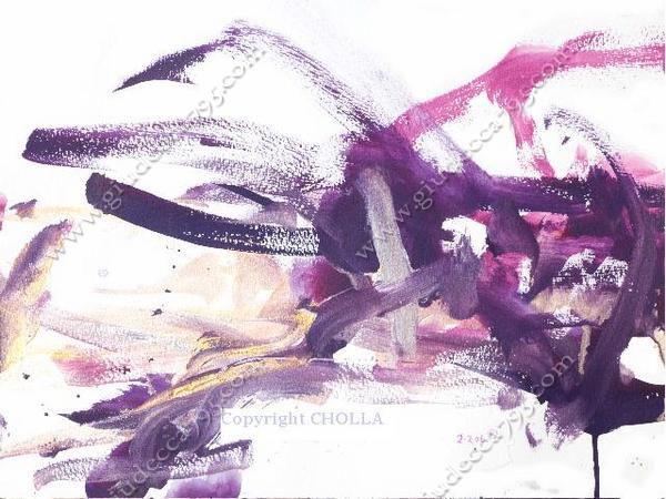 Чолла, мустанг-художник (Невада, США)