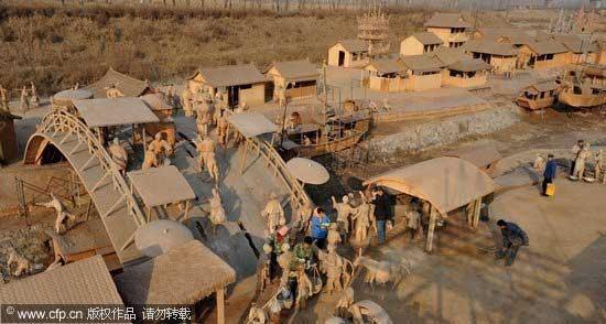 Парк глиняных скульптур (Китай)