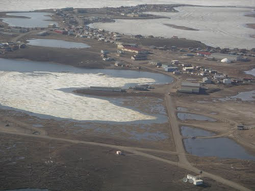 Поселок Тактояктук (Канада)