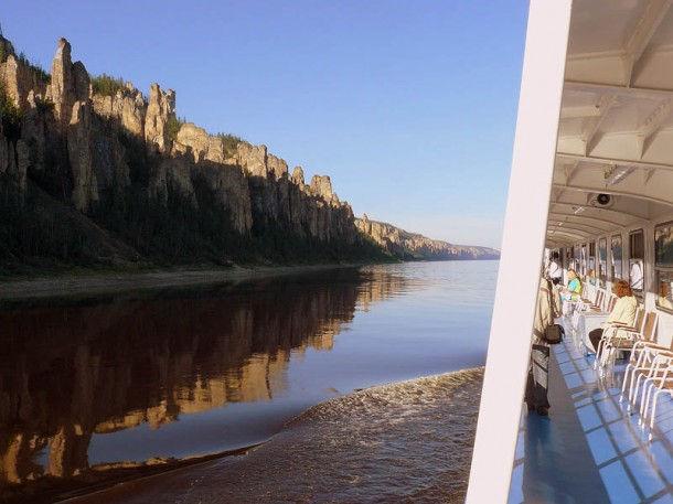 Ленские Столбы – уникальное скальное образование Якутии (Россия)