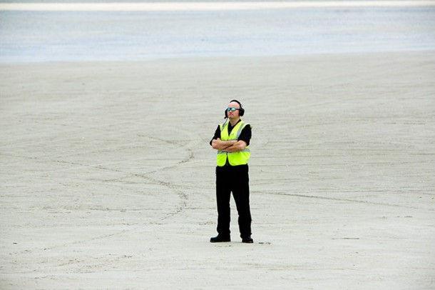 """Единственный в мире """"пляжный"""" аэропорт на острове Барра (Англия)"""