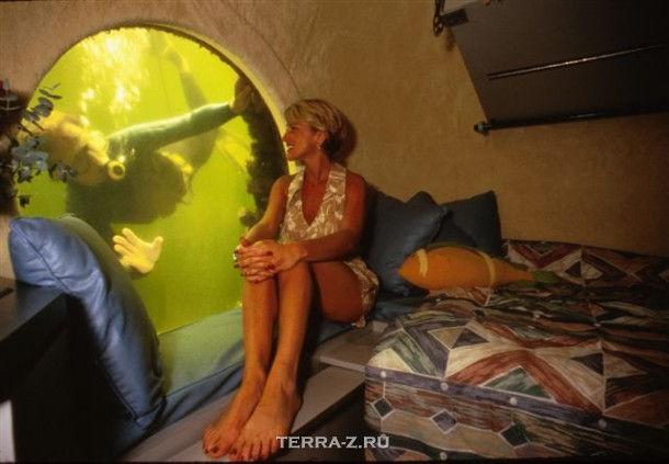 """Подводный отель """"Jules' Undersea Lodge"""" (США)"""