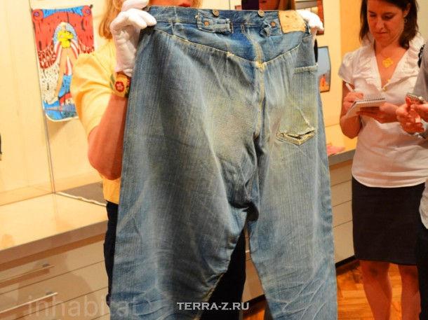Самые старые в мире джинсы