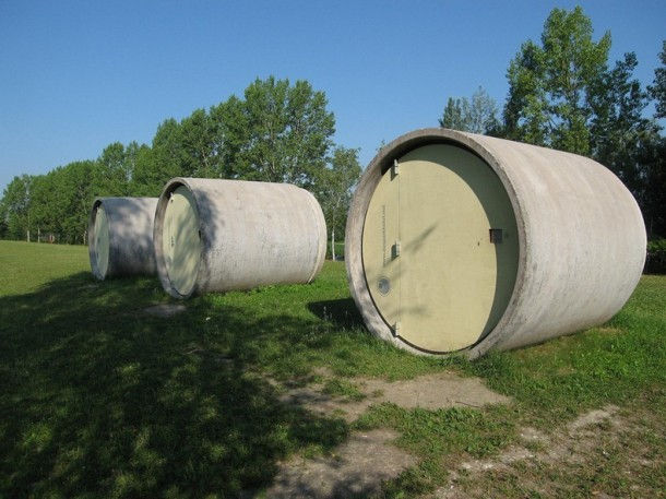 """""""Das Parkhotel"""" – отель в канализационных трубах (Австрия)"""
