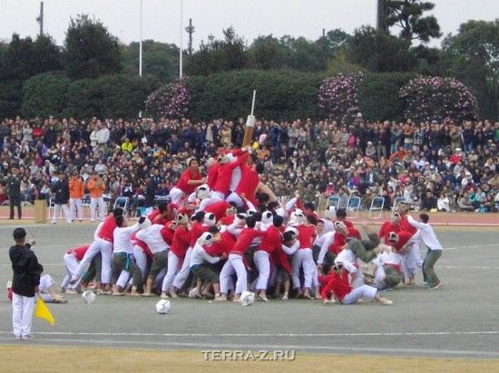 """Ботаоши – """"рукопашное"""" состязание японских курсантов"""