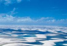 Водная пустыня Lençóis Maranhenses (Бразилия)