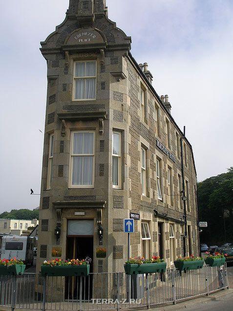 """""""Эбенезер плейс"""" – самая короткая улица в мире (Уик, Шотландия)"""