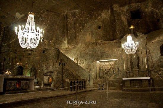 Величковский подземный собор в соляной шахте (Польша)