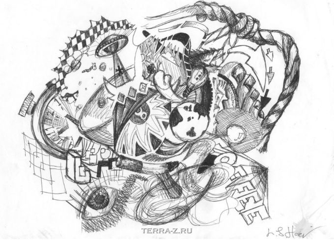Ли Хадвин – художник, рисующий во сне (Англия)