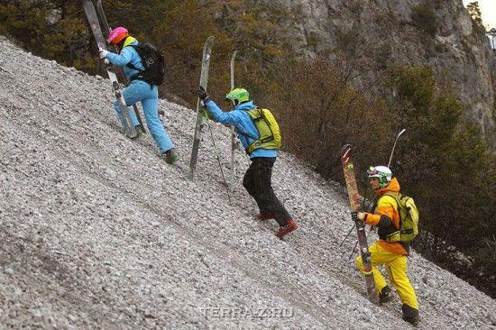 Лыжные трассы по гравию