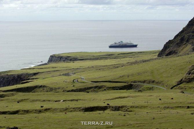 Тристан-да-Кунья – самые удаленные в мире острова (Атлантика)