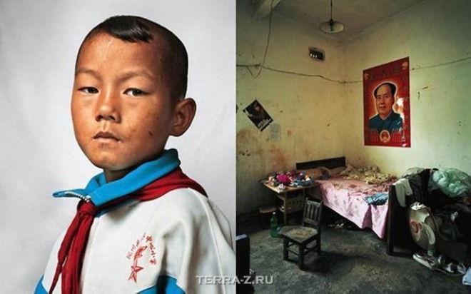 Донг, 9, живет в провинции Юньнань на юго-западе Китая с родителями, сестрой и дедушкой