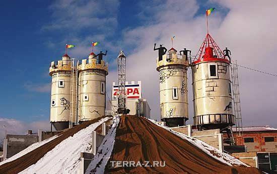 """Бетонный завод """"Zapa"""" или детская площадка? (Чехия)"""