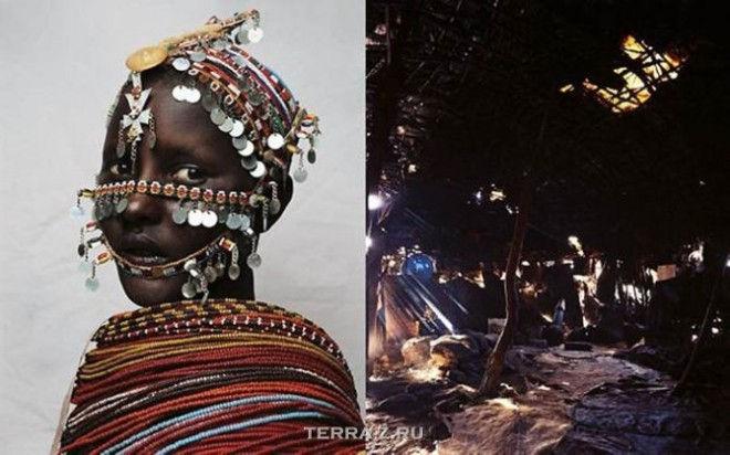 Нантио, 15, является членом племени Рендилл на севере Кении
