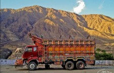 Пакистанский грузовик-арт