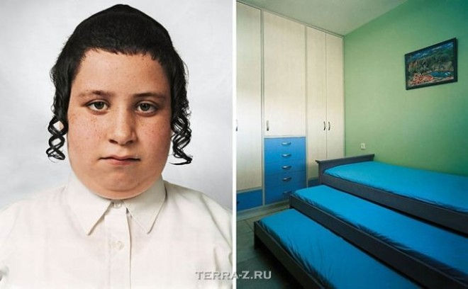 Цвика, 9, живет в многоэтажном доме в Бейтар-Илит, израильском поселении на Западном берегу