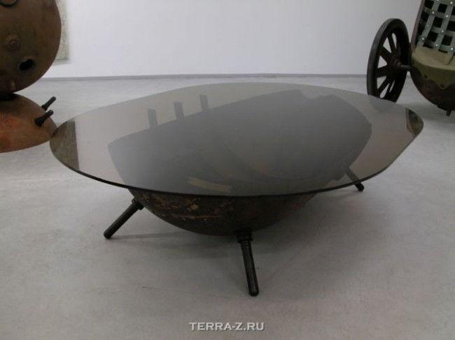 Мебель из морских мин от Mati Karmin (Мати Кармин)