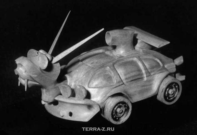 Резные скульптуры Игоря Купцова (Россия)