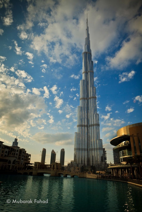 """""""Бурдж Халифа"""" - самый высокий небоскреб в мире (Дубаи, ОАЭ)"""