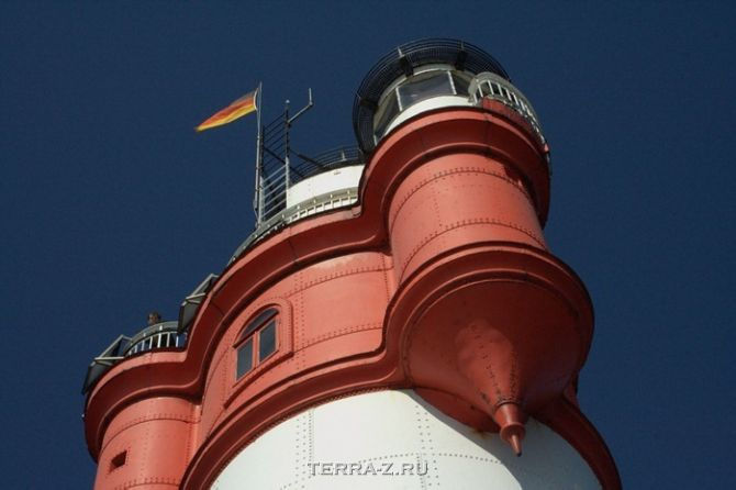 Гостиница маяк Roter Sand (Германия)