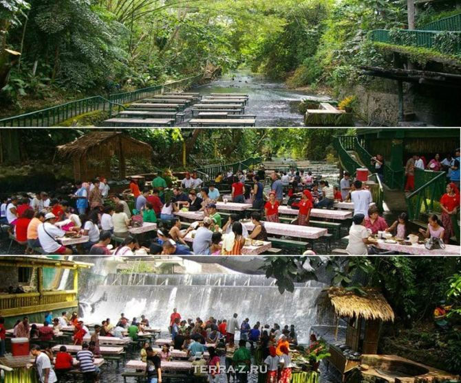Ресторан-водопад (Филиппины)