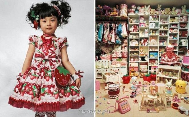 Кая, 4, живет с родителями в маленькой квартире в Токио, Япония