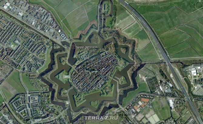 Город-крепость Наарден (Naarden), Голландия