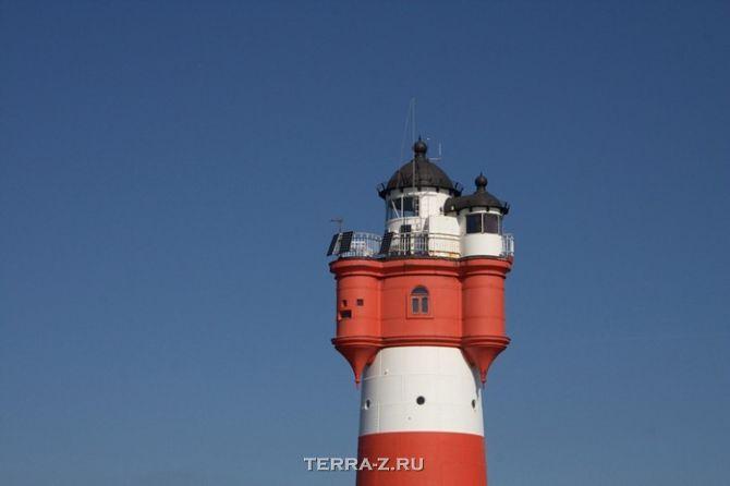 "Гостинница-маяк ""Roter Sand"" (Германия)"