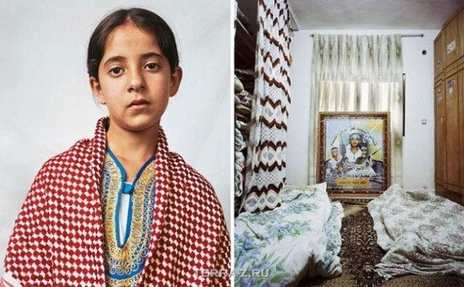 Доха, 10, живет с родителями и 11 братьями и сестрами в лагере палестинских беженцев в Хевроне, на Западном берегу
